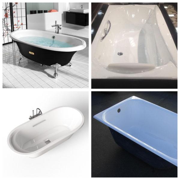 Рейтинг чугунных ванн