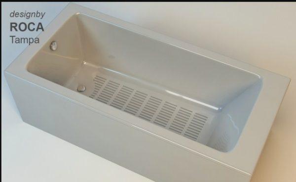Пространственная модель ванны Рока Тампа из чугуна