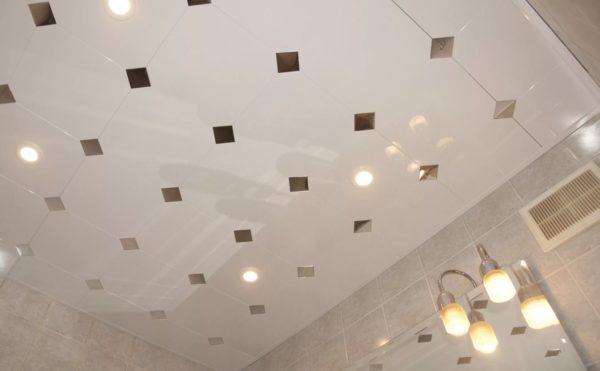 Бесшовный кассетный потолок