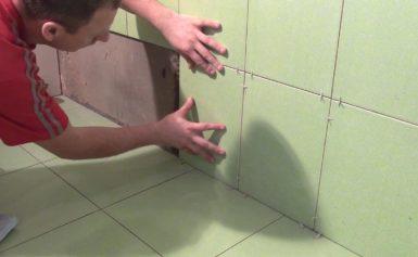 Последовательность укладки плитки в ванной: что за чем