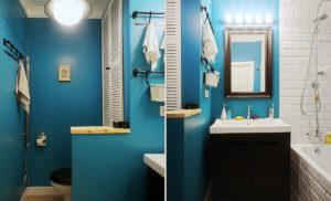 Как покрасить ванную комнату своими руками: выбор материалов, технология, идеи дизайна