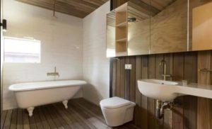 Чем можно отделать стены в ванной комнате кроме плитки