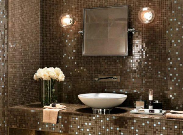 Максимальное количество не герметичных швов при отделке стен мозаикой