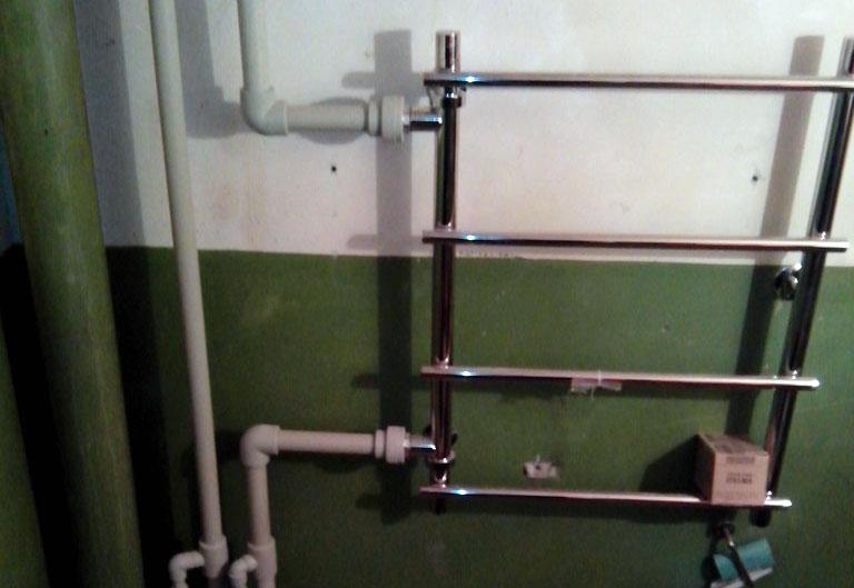 Диаметр трубы для подключения полотенцесушителя