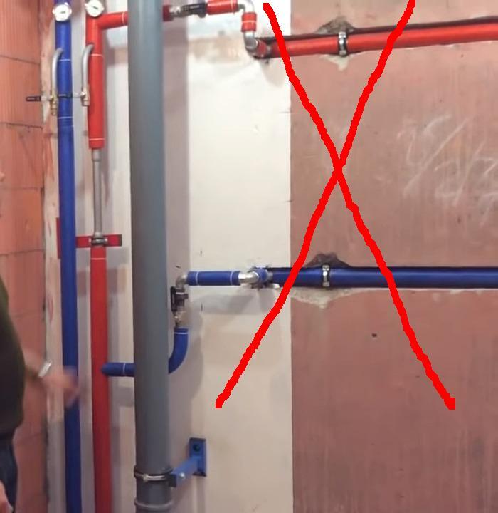 Самовольные штробы в железобетонных панелях запрещены