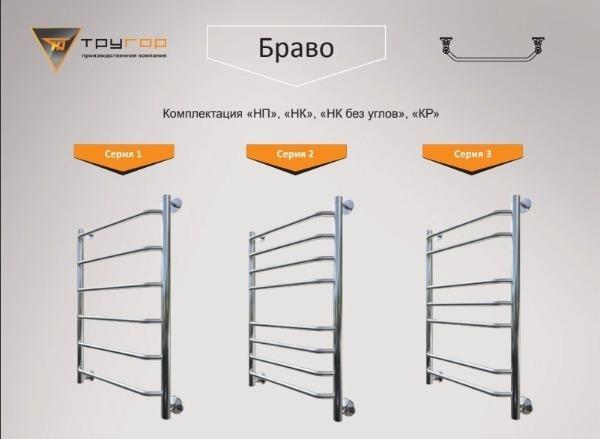 Тругор Браво серия 1 – 3