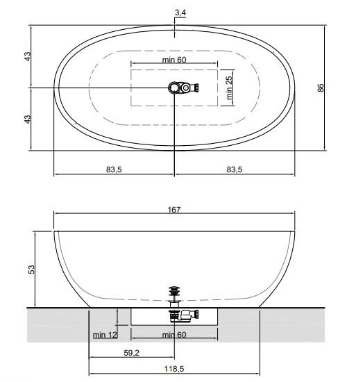 Размеры REFLEX