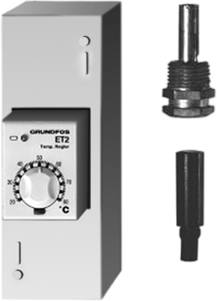 Терморегулятор ET 2 с погружным и накладным термодатчиком