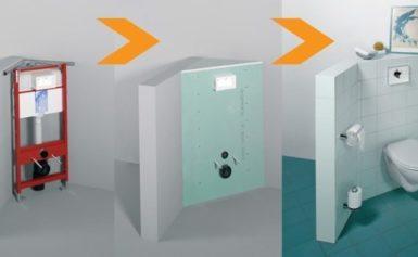 Какие бывают угловые инсталляции для унитаза