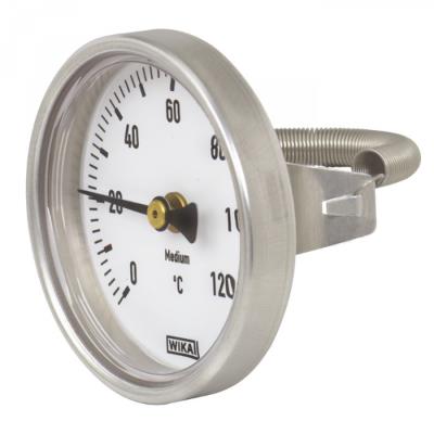 Накладной биметалический термометр