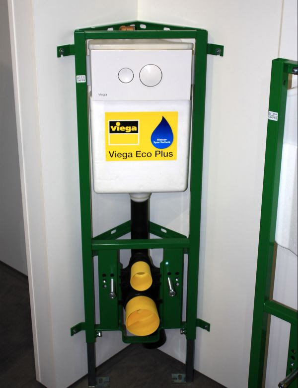 Угловая инсталляция Viega